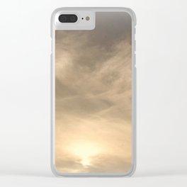 Dreamy Night Sky Clear iPhone Case