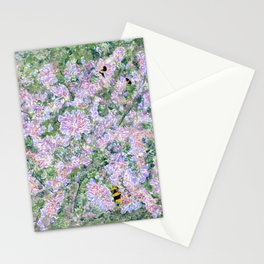 Bees Love Lavender Stationery Cards
