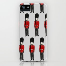 London Palace Guards iPhone Case