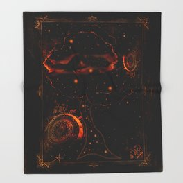 THE DREAMING TREE Throw Blanket