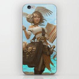 Pirate Chronicler iPhone Skin