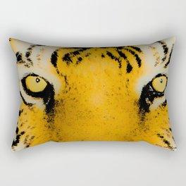 Serene Tiger Rectangular Pillow