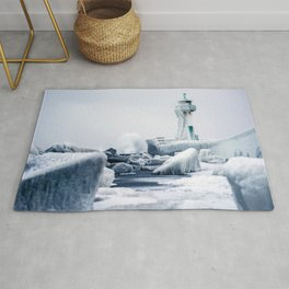 Lighthouse Sassnitz Germany Rug