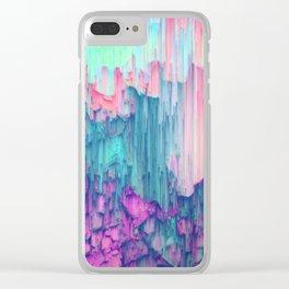 Tulip Stream Clear iPhone Case