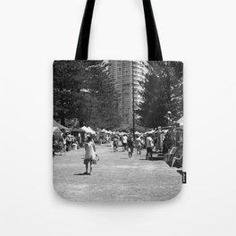 Weekend Markets Tote Bag