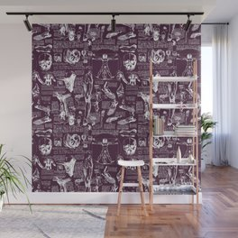 Da Vinci's Anatomy Sketchbook // Blackberry Wall Mural
