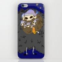 dark souls iPhone & iPod Skins featuring Dark Souls- Goodnight Nito by Mango Mamacita