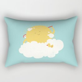 sun-bathing Rectangular Pillow