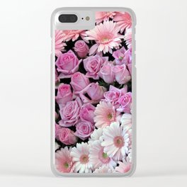 The Pink Bouquet Clear iPhone Case