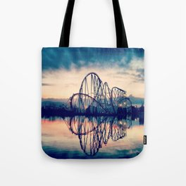 Rollercoaster Tote Bag