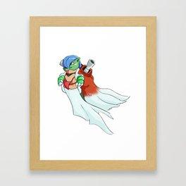 Blastevoir Framed Art Print