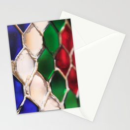 Multi colour wire pattern Stationery Cards