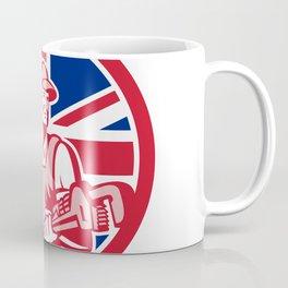 British Plumber and Gasfitter Union Jack Icon Coffee Mug