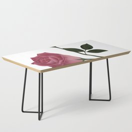 Mystical Maroon Rose Coffee Table