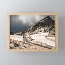Tranquil landscape Framed Mini Art Print