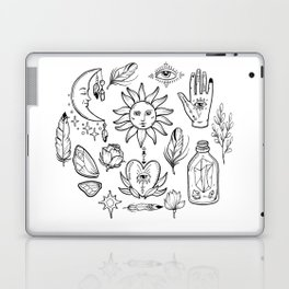 Bohemian magic alchemy print Laptop & iPad Skin