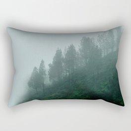 Foggy trees Rectangular Pillow