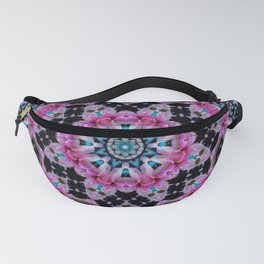 KALEIDOSCOPE ABSTRACT LILY SHINING COLOR Fanny Pack