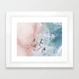 sea bliss Framed Art Print