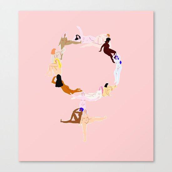 women Canvas Print