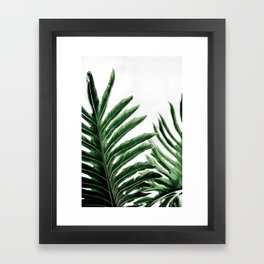 Leaves 1 Framed Art Print