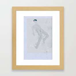 Sound of Sounds Underwater Framed Art Print