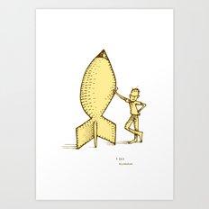 fear... Art Print