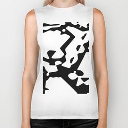 Culdesacs #abstract Biker Tank