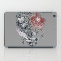 wizard iPad Cases featuring Wizard by 2mzdesign