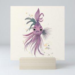 Graphic designer fish Mini Art Print