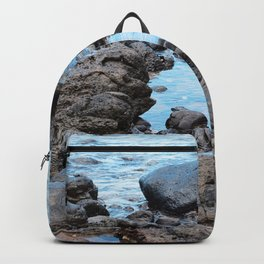 Fantasy Secret Cove By Magical Blue Ocean Backpack