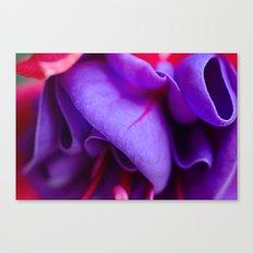 Fabric-Like Fuschia Canvas Print
