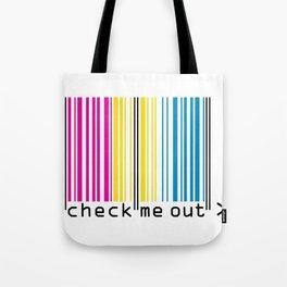 CHECK ME OUT (pan) Tote Bag