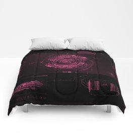 Grid Tech Cyberpunk UI Comforters