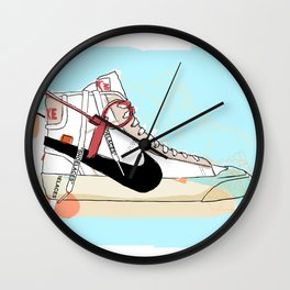 Off-White Blazer Wall Clock