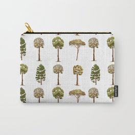 Tree Pattern Carry-All Pouch