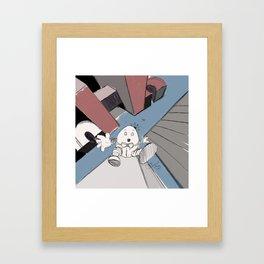 Humpty Dumpty's Free Fall Framed Art Print