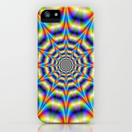 Psychedelic Wheel iPhone Case