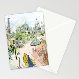 Madeline Montmartre colored Stationery Cards
