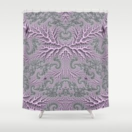 Floral Fantasy 05 lilac Shower Curtain