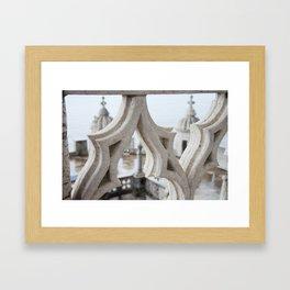 Belém Tower or the Tower of St Vincent Framed Art Print