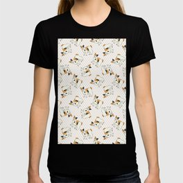 Cute cartoon Japanese bobtail cat. T-shirt