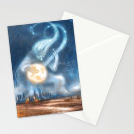 WINTER MINSTREL Stationery Cards