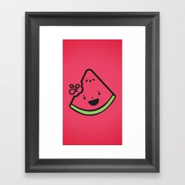 WATERMELON! Framed Art Print