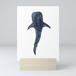WHALE SHARK II Mini Art Print