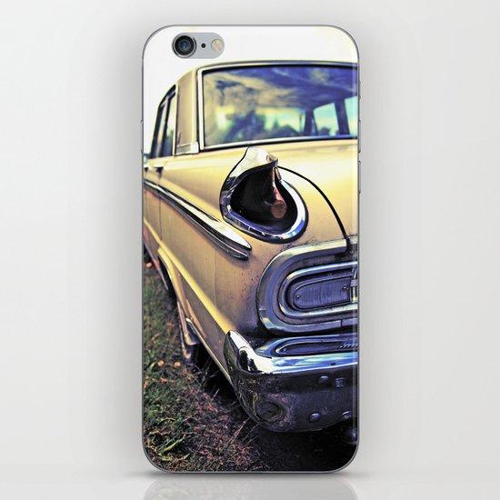 Meteor taillight iPhone & iPod Skin