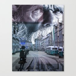 the giver Canvas Print