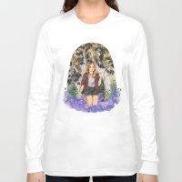 kris tate Long Sleeve T-shirts featuring Malia Tate by strangehats