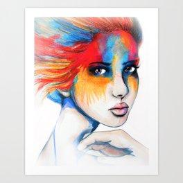 Colourblind // Fashion Illustration Art Print