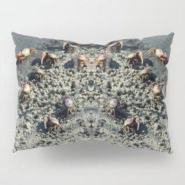 Fiddlers Crabs Ashore Pillow Sham